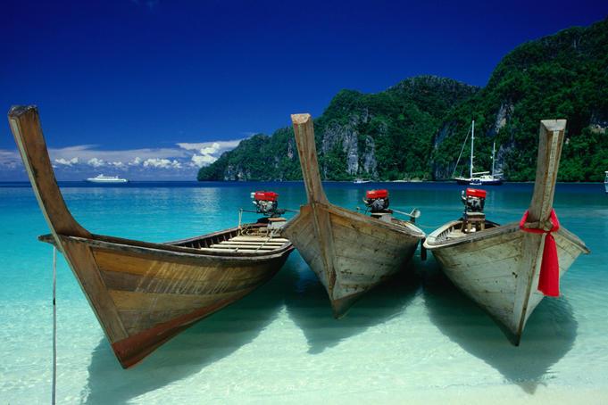 катера и лодки в тайланде